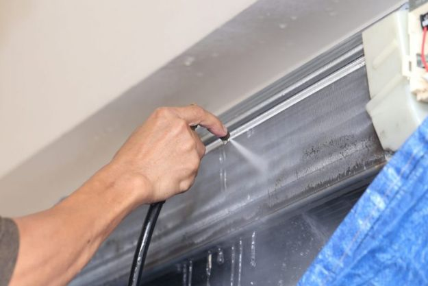 chemical cleaning aircon