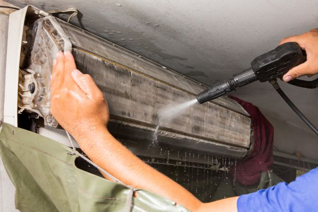 aircon steam cleaning